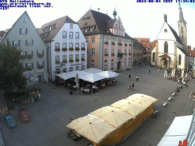 Rottenburg am Neckar City Center, Marktplatz